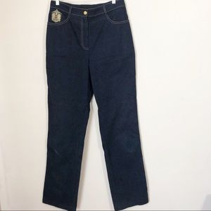 St. John by Marie Gray / high waisted jeans / 10